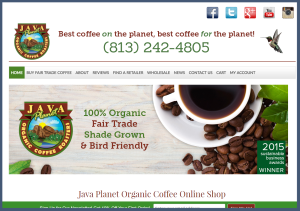 Java Planet Organic Coffee   Fair Trade Coffee