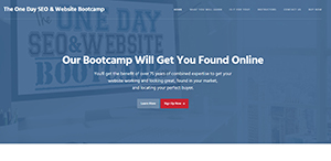 the one day seo website bootcamp