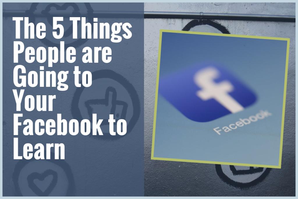 blog post image showing the Facebook logo
